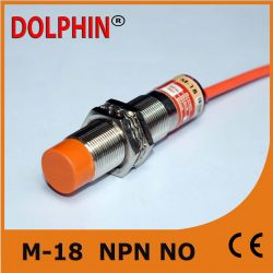 M18 DC inductive Proximity Switch Sensor sn: 8 mm NPN  NO make – Dolphin